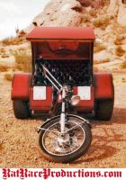 Trike Three Wheeled Motorcycle by crb1177