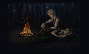 Colouring job: Campfire by Firstborn