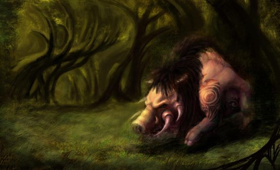 Boar by studentsofcogswell