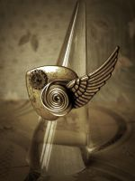 Winged Heart Ring by StaticSkies