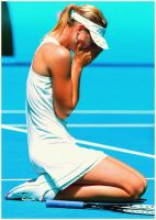 Maria Sharapova_AO10 by leftysrock