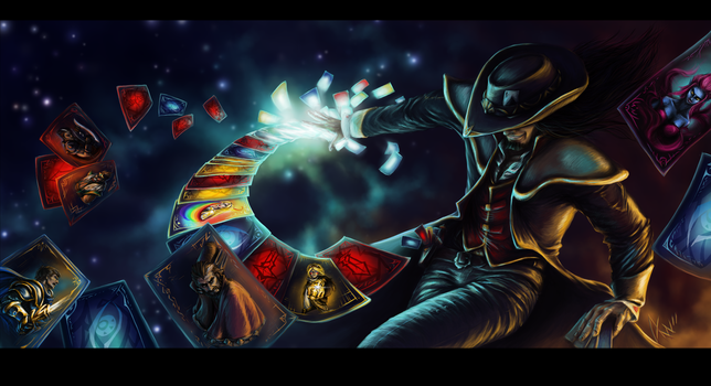 Twisted Fate-The Ace In Your Sleeve by Sarianne
