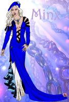 Minx Haute Couture Blue by Furyian