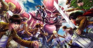 Attack On Titan Triptych by WiL-Woods