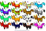 Adopts OPEN by LunaWolfAdopts