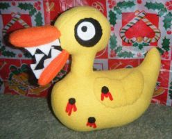 Nightmare before Christmas duck by spookysculpter