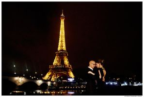 Wedding in Paris by Slava-Grebenkin