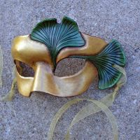 Ginkgo Leaf Mask by merimask