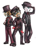 Steam Powered Giraffe by MyaTheSquishyOctopus