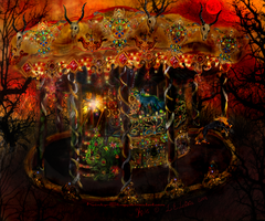-The Royal Nightmare Carousel- by Kinky-Slingy