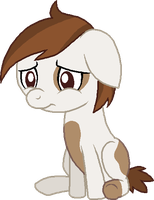 Sad Pipsqueak by LudiculousPegasus