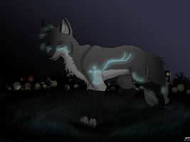 Night light - AT by Kitsume-the-wolf