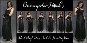 Black Vinyl Dress Pack 1 by Onnagata-stock