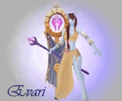 Evari the Monk by StellaHide