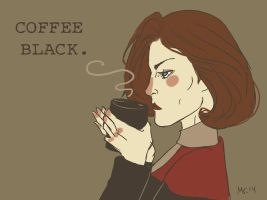 COFFEE BLACK by inicka