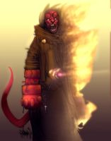 HELLBOY by Gambear1er