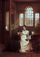 Eugene Onegin and Tatiana by ilona-veresk