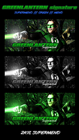The Green Lantern tag by Supermend