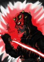 Darth Maul by Hannara459