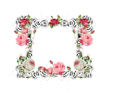 Rose Frame png by mysticmorning