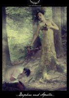 ..Daphne and Apollo.. by Jeyam
