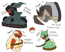 Some Gagged Pokemons