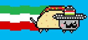 Mexican Nyan Cat by CrizCamacho