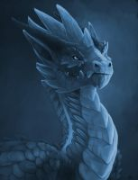 Ice guardian by Allagar
