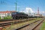 450 005 with a goods train in Gyor by morpheus880223