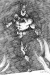 Batman sketch/study by Eric Meador by Meador