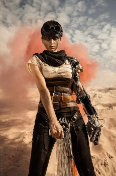 Imperator Furiosa- Mad Max: Fury Road by love-squad
