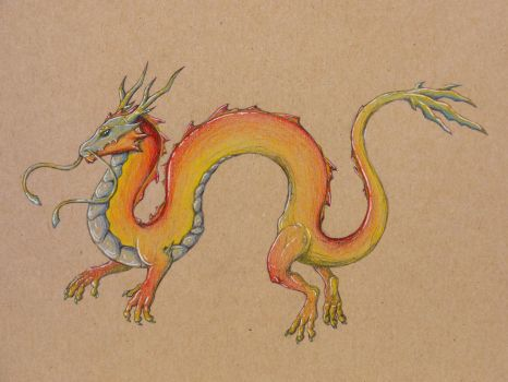 Sort Of Chinese Dragon I Suppose.. by Rixxes