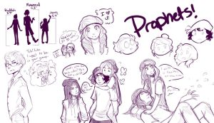 P R O P H E T S by lainykins