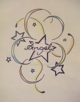 Angel Star Tattoo 1 by MadeByJanine