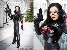 Baroness Ana DeCobray by yayacosplay