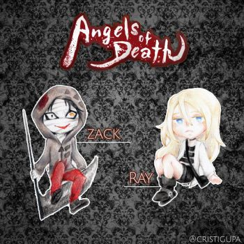 Angels of Death/Satsuriko no Tenshi Merchandising by Cristigupa