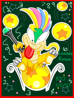 Class Clown Lemmy Koopa by Bowser2Queen