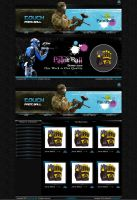 touch paint ball by xtreamgraphic