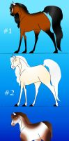 Point Horse Adoptables by Adoptable-Horses-INC