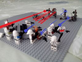 Lego Star Wars Firefight by bearchipsandships123