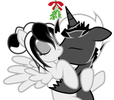 Underneath The Mistletoe by JunkiesNewb