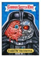 GPK Darth Vader and Terminator by DeJarnette