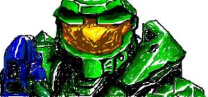 Masterchief graphitti by VIpJoe