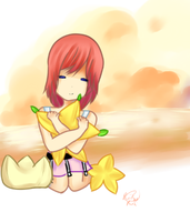 destiny islands kairi by Little-Miss-RiikoRed