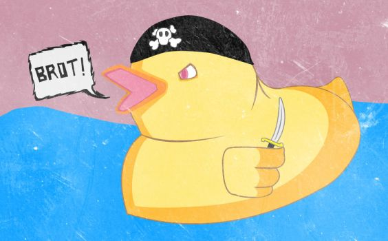 Pirate Duck by Starfy