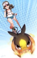 Tepig used Tackle by Sir-Doomy