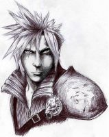 Advent Cloud from FF7 by CaptainCanada