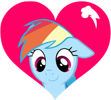 Most Loveable Pony (Rainbow Dash) by SLB94