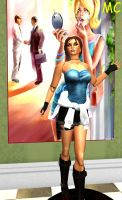 Jill Valentine As A Hypnotized Mannequin by The-Mind-Controller