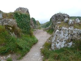 Corfe Castle 2012 55 by LadyxBoleyn